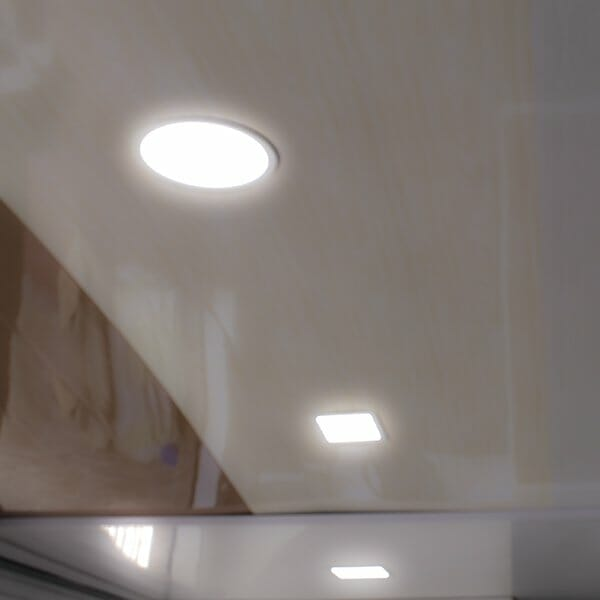Luces Led De Incrustar Para Cielo Raso De Pvc Global