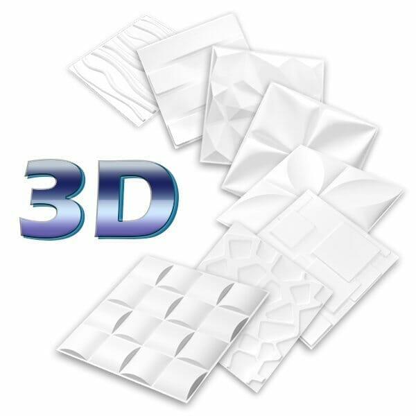Pared 3D en pvc cali