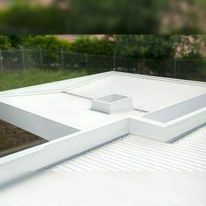 tejas blancas en pvc cartagena