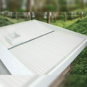 tejas en pvc blancas cartagena