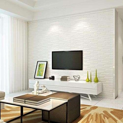 pared blanca adhesiva 3d pegatina Cali Cartagena