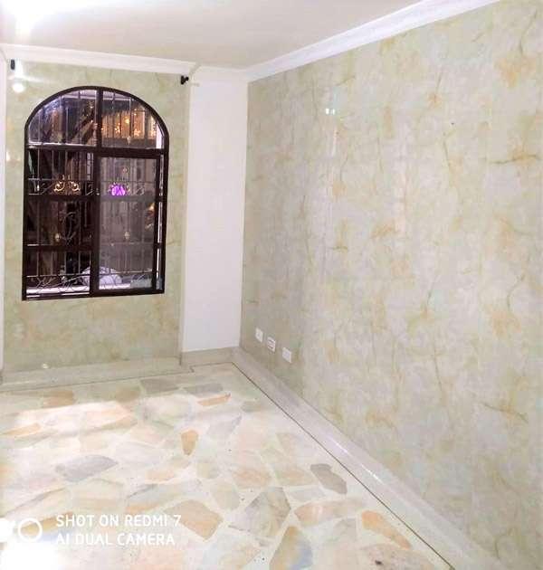 pared marolizada en pvc sala